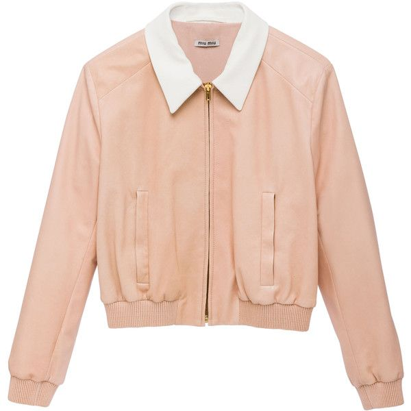 Miu Miu Jacket (£2,095) ❤ liked on Polyvore featuring outerwear, jackets, tops, coats & jackets, miu miu, red jacket y miu miu jacket