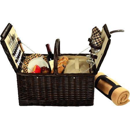 Surrey Picnic Basket & Blanket