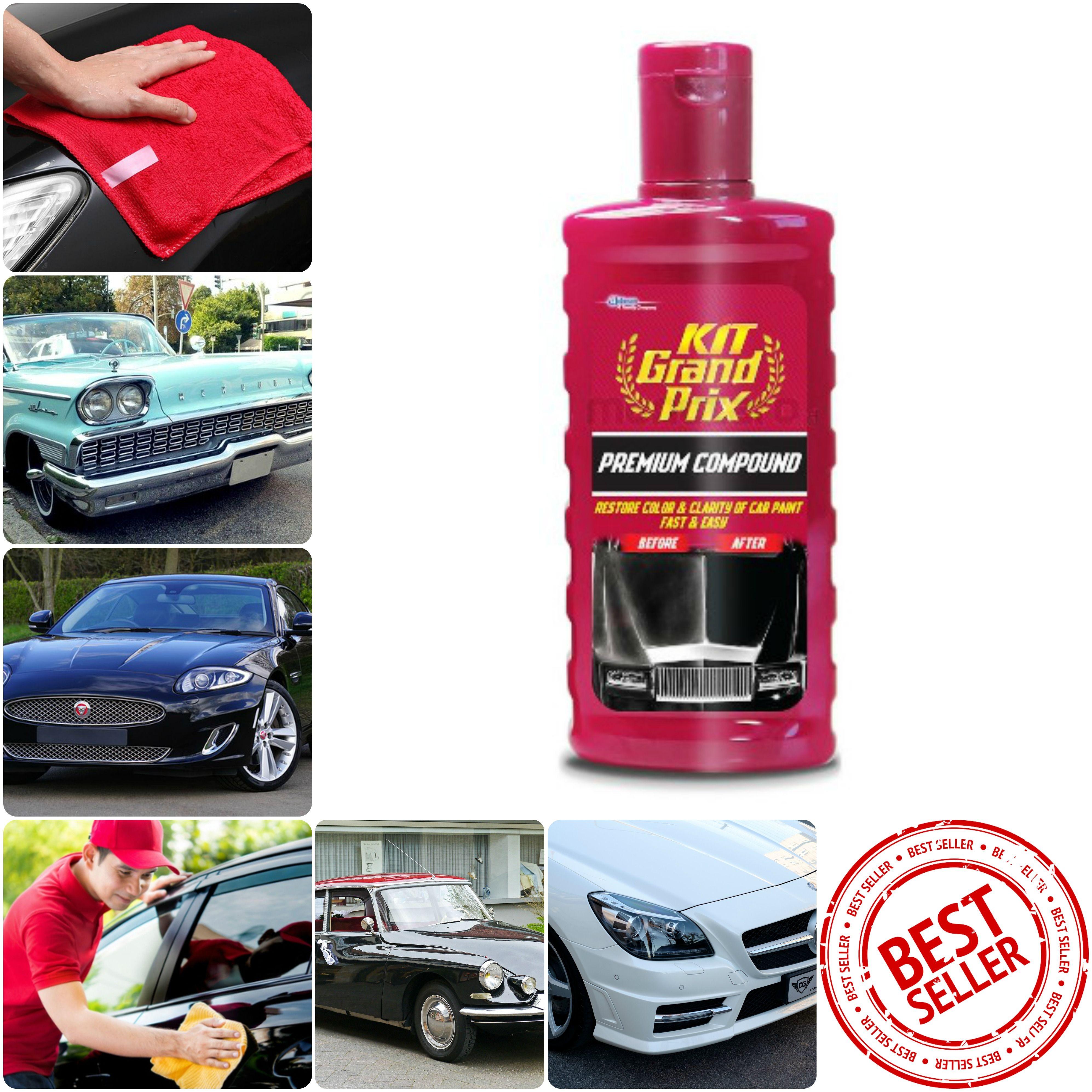 Pembersih Noda Pada Cat Mobil Kit Grand Prix Premium Compound 275ml Grand Prix Grands Noda