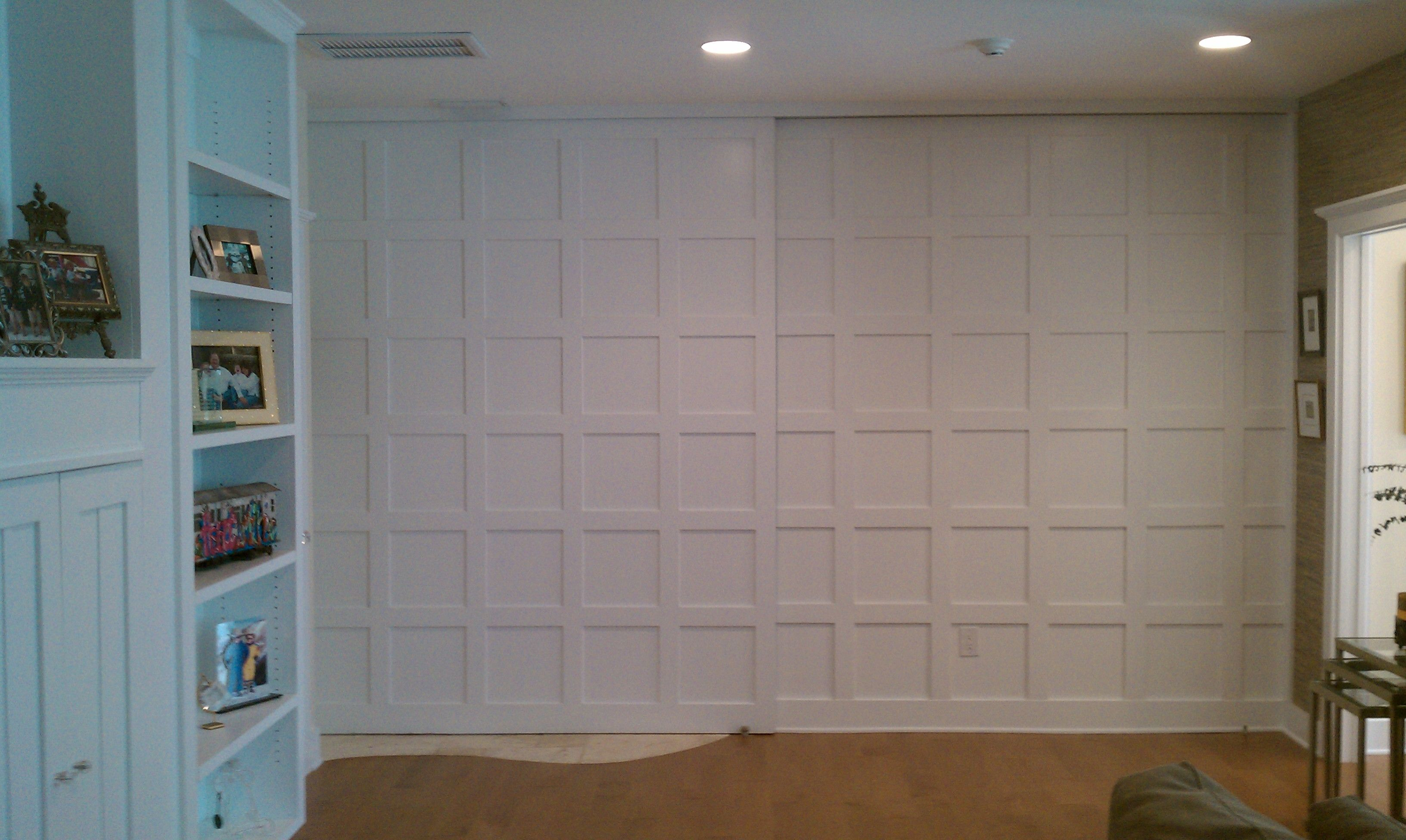 Create a little privacy with a moveable wall basement pinterest