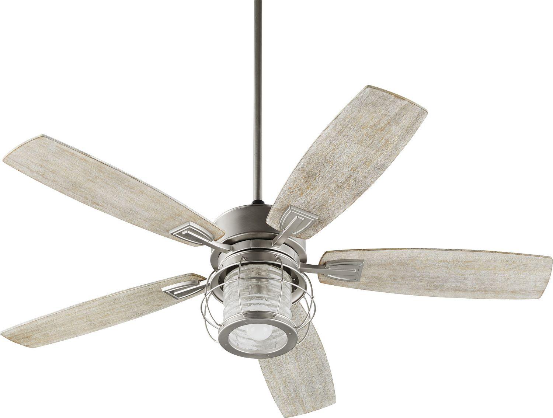 52``Galveston Exterior Ceiling Fan by Quorum | Farmhouse Style ...