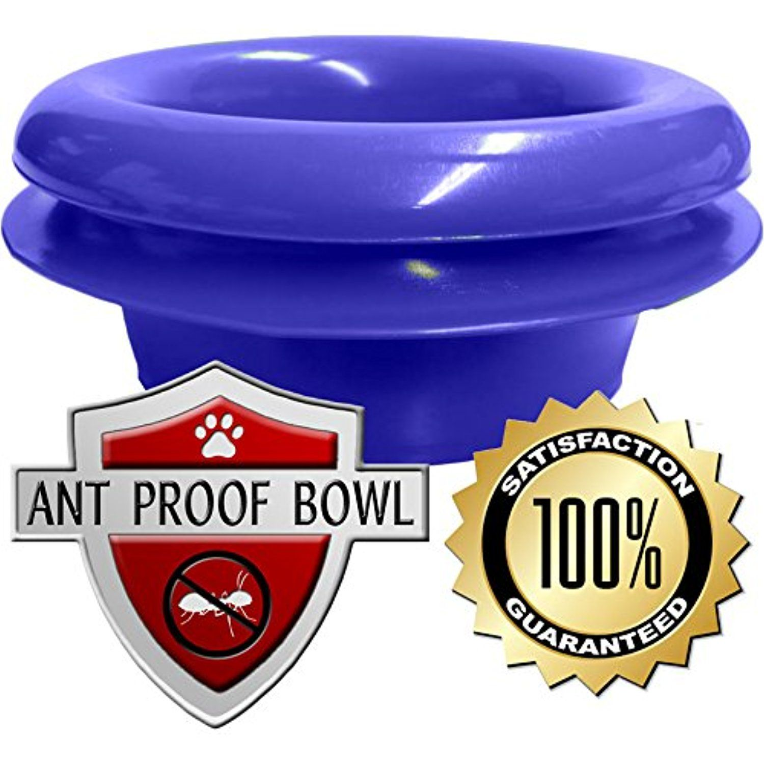 2Bowl Raised Multicat Feeder with Antproof Base from