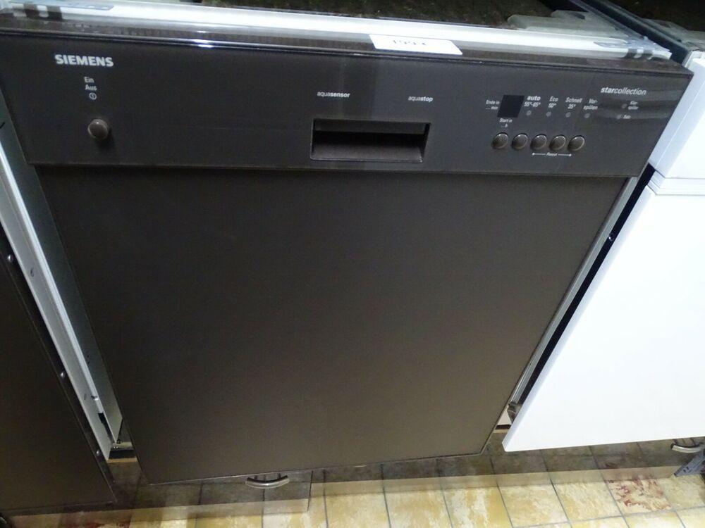 eBay Sponsored Spülmaschine Siemens Braun Unterbau In