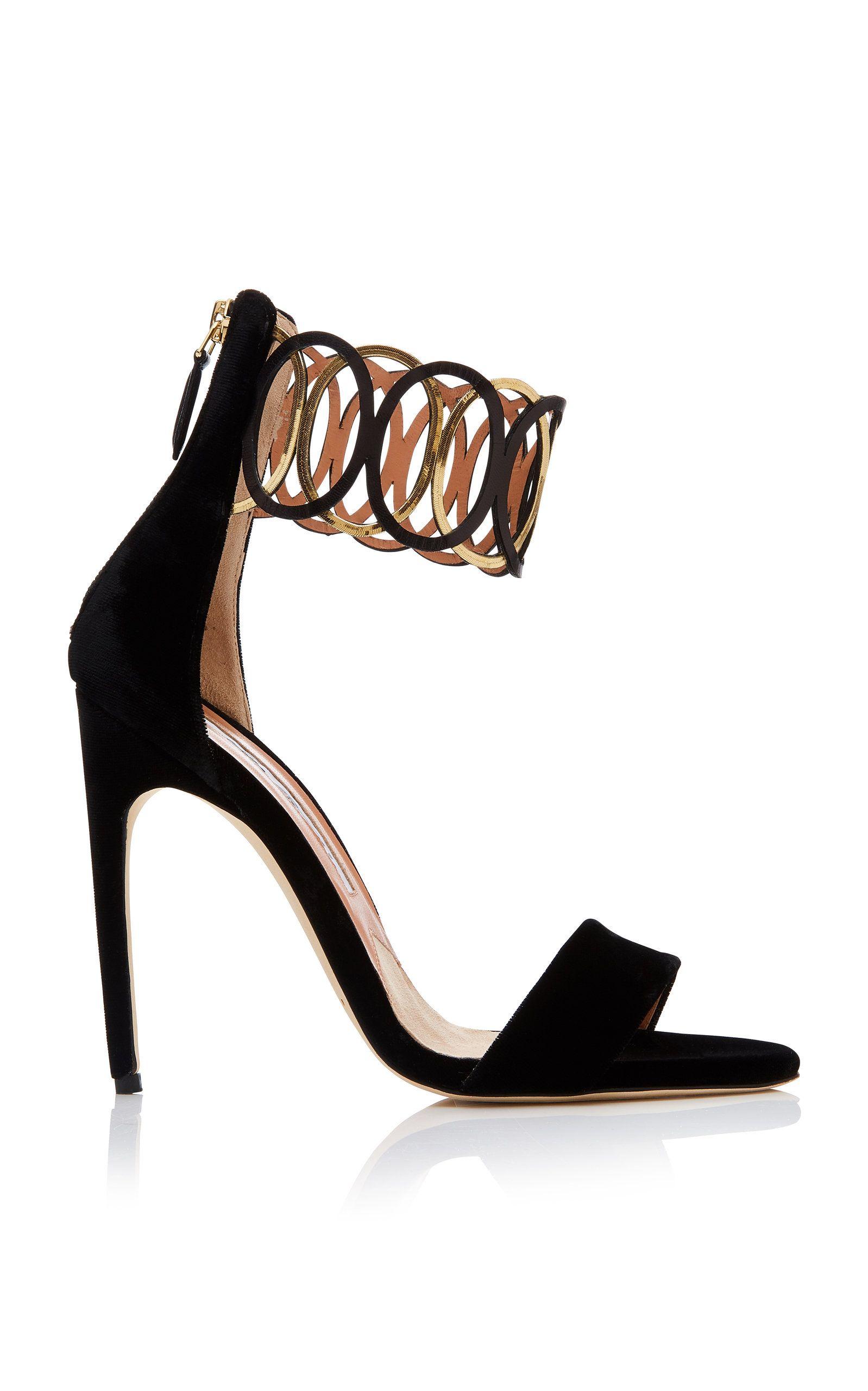 1668997ca647 Jiulia Velvet Sandal by BRIAN ATWOOD for Preorder on Moda Operandi