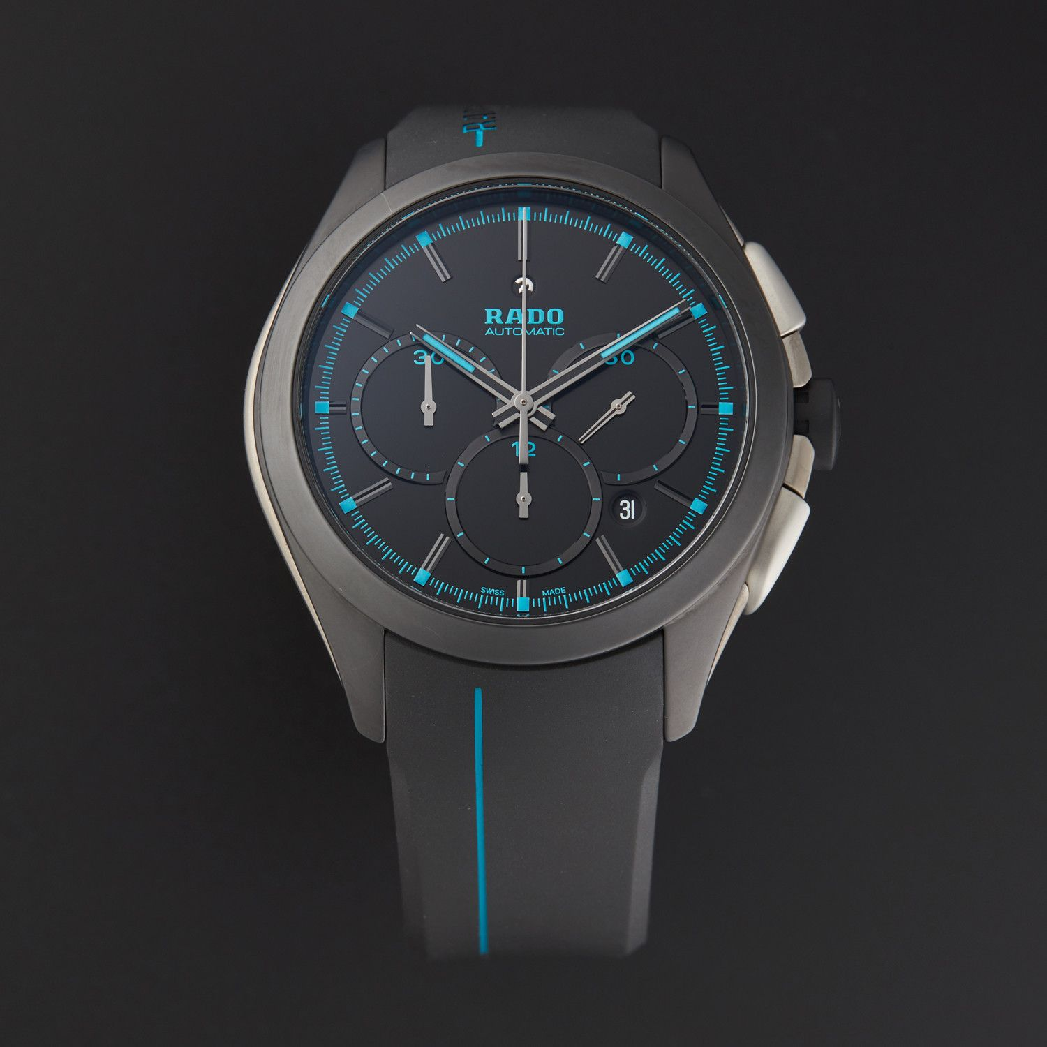 Rado Hyperchrome Xxl Chronograph Automatic R32525159 Functional Emphasis Rado Design Mens Watches Affordable Durable Watches Watches For Men