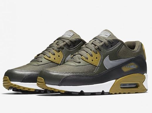 timeless design da441 85483 ... new zealand nike air max 90 essential cargo khaki stucco 814ae 28503
