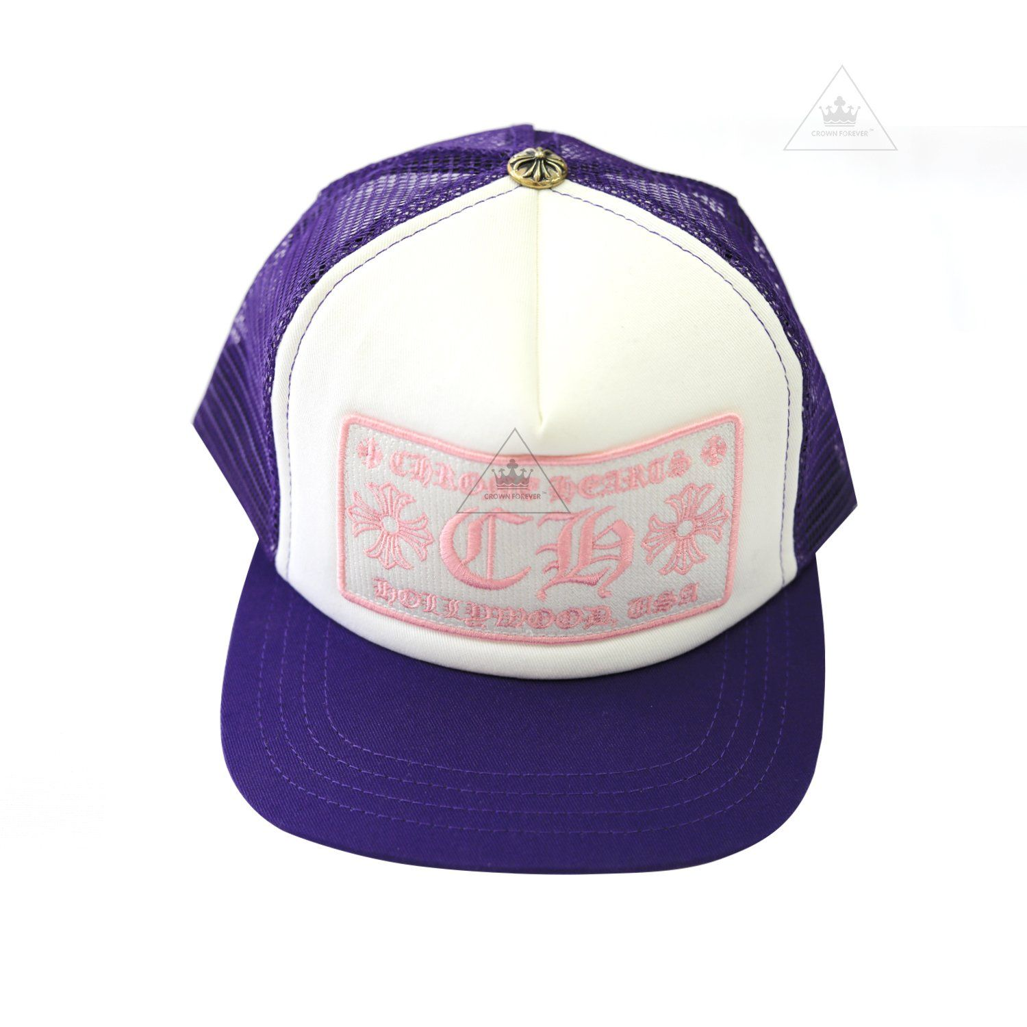10dbcbc17 CH Hollywood Patch Cap Purple in 2019   Chrome Hearts Hats   Cap ...