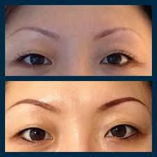 permanent eyebrow makeup before and after - Google Search