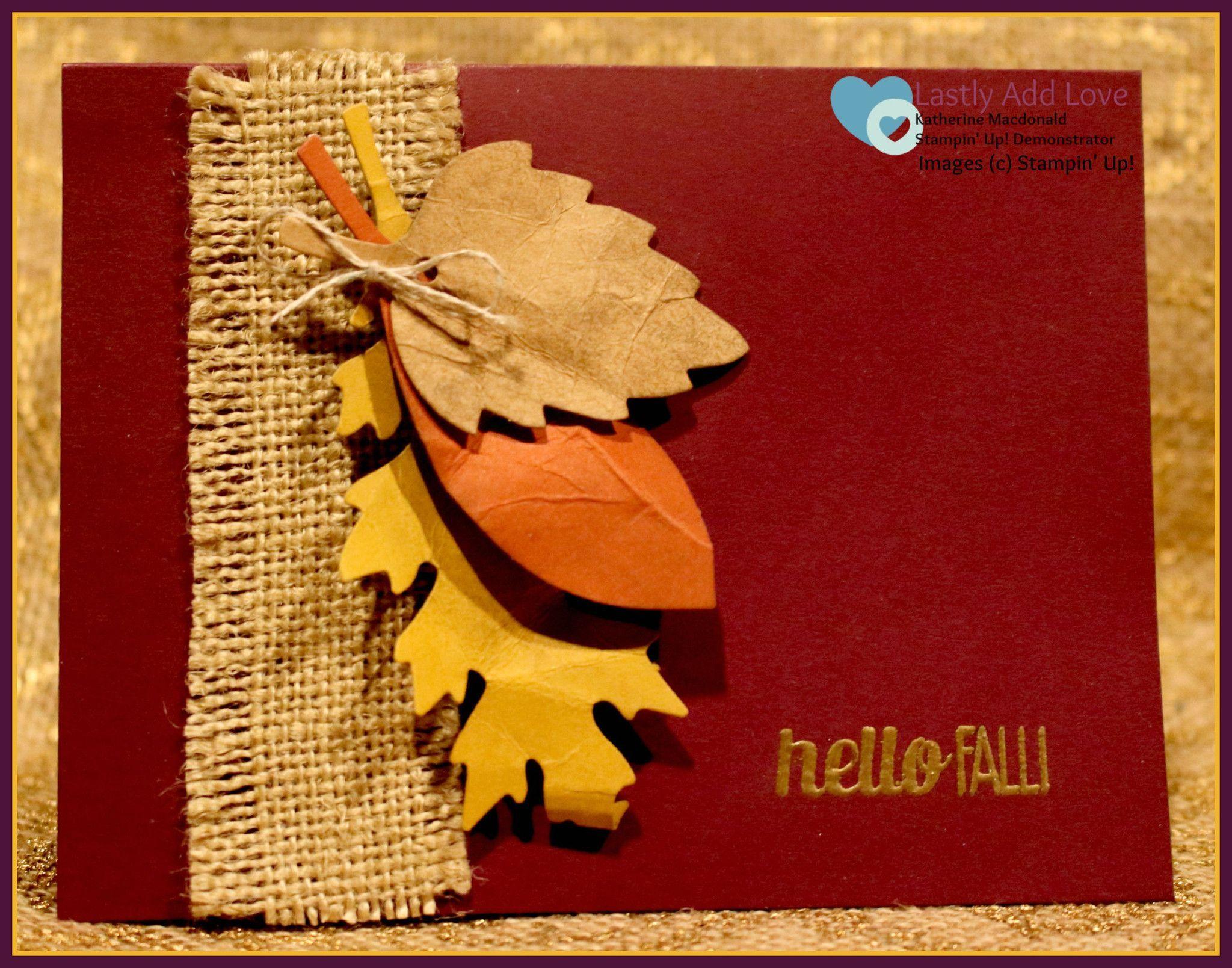 открытка с осенними листьями из бумаги своими руками эти
