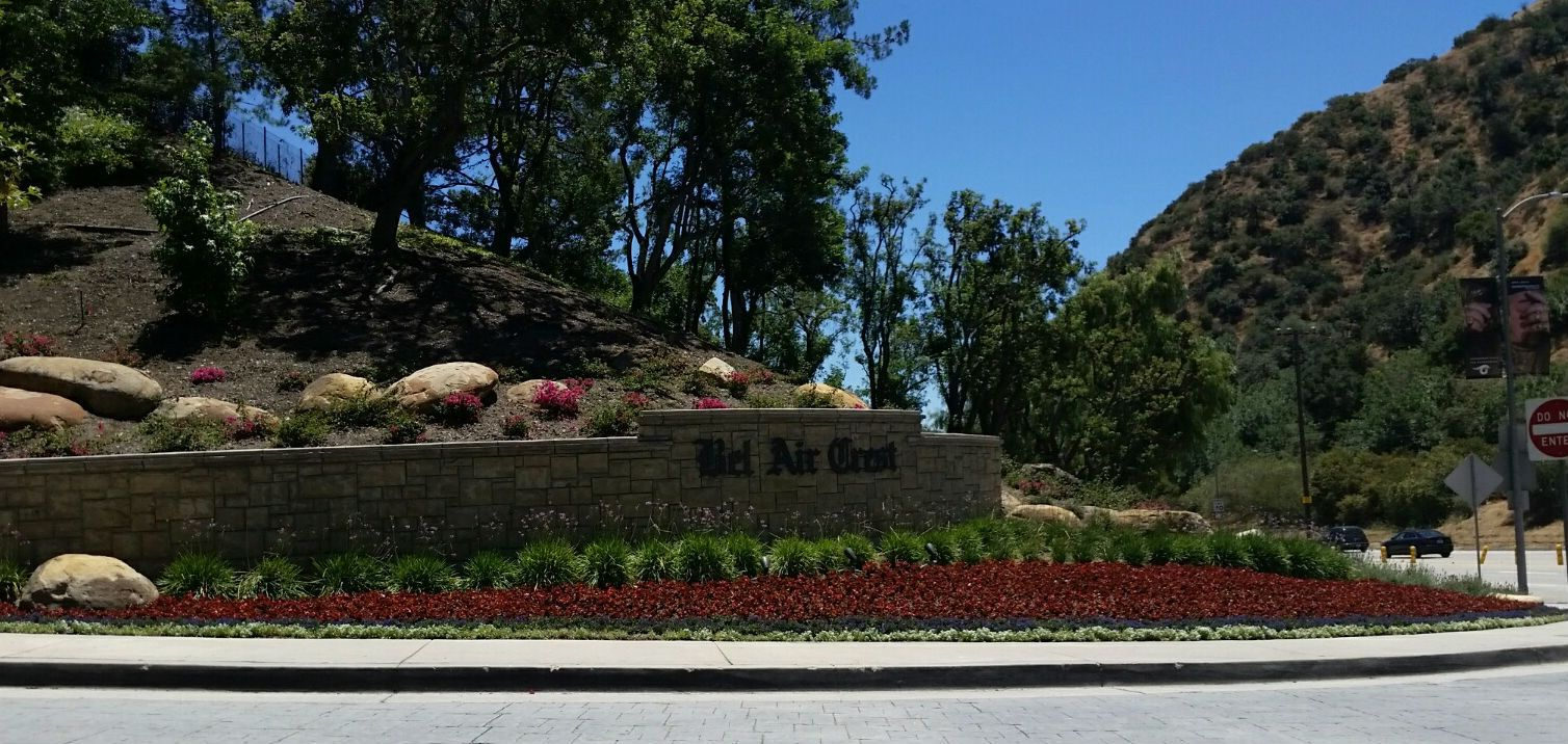 Bel Air Crest a gated community in the coveted 90077 zip