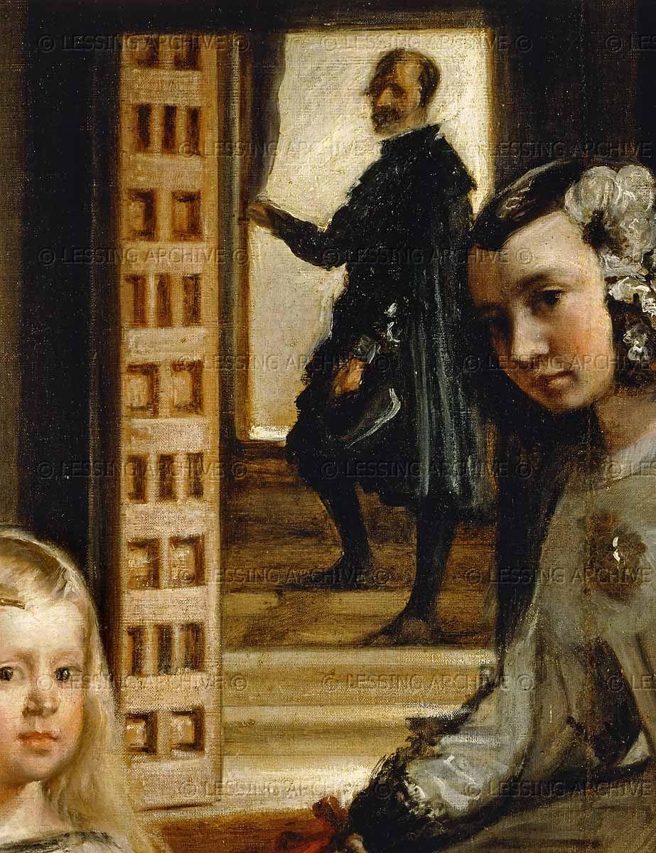 Velazquez,Diego de Silva.Las Meninas (the maids of honour ...