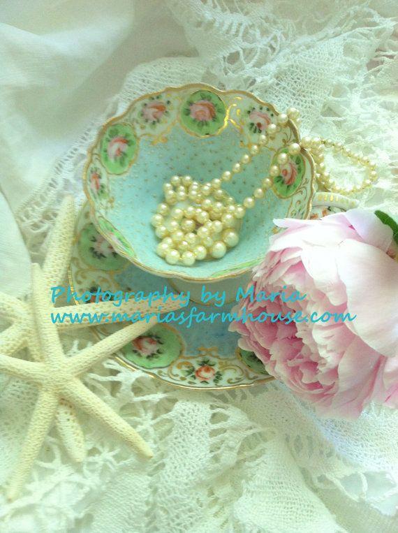 Tea by the Sea  Art Photography by Maria by MariasFarmhouse, $12.00