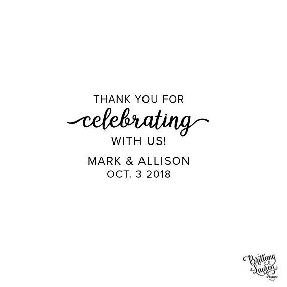 Self Inking Or Wood Personalized Custom Envelope Rsvp Rubber Stamp Wreath Favor Wedding Save The Date Celebrate With Us Envelopes