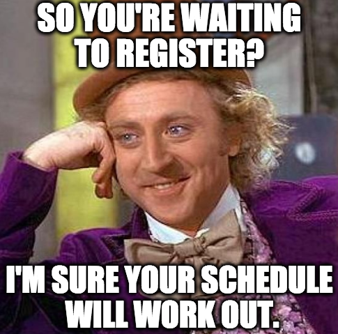 Current #HindsCC students, registration for Spring 2015 classes is now open! Click Wonka to find available classes.