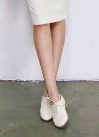 Inspiração fashion: Saia lápis + tênis - Raysa Ruschel