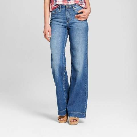 36b425e41d Universal Thread Women's High-Rise Wide Leg Jeans - Universal Thread Light  Wash
