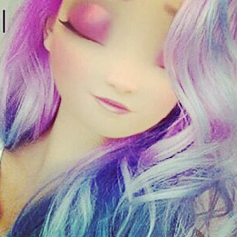 Blue.purple.hair