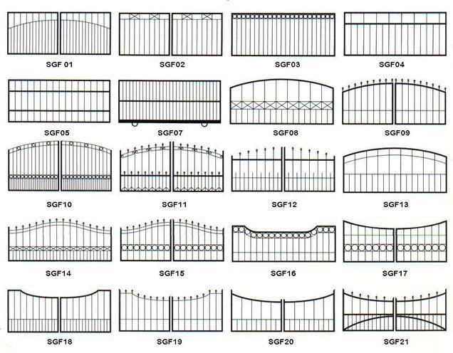 Rock Gate Entrances Iron Design Ideas Types Of