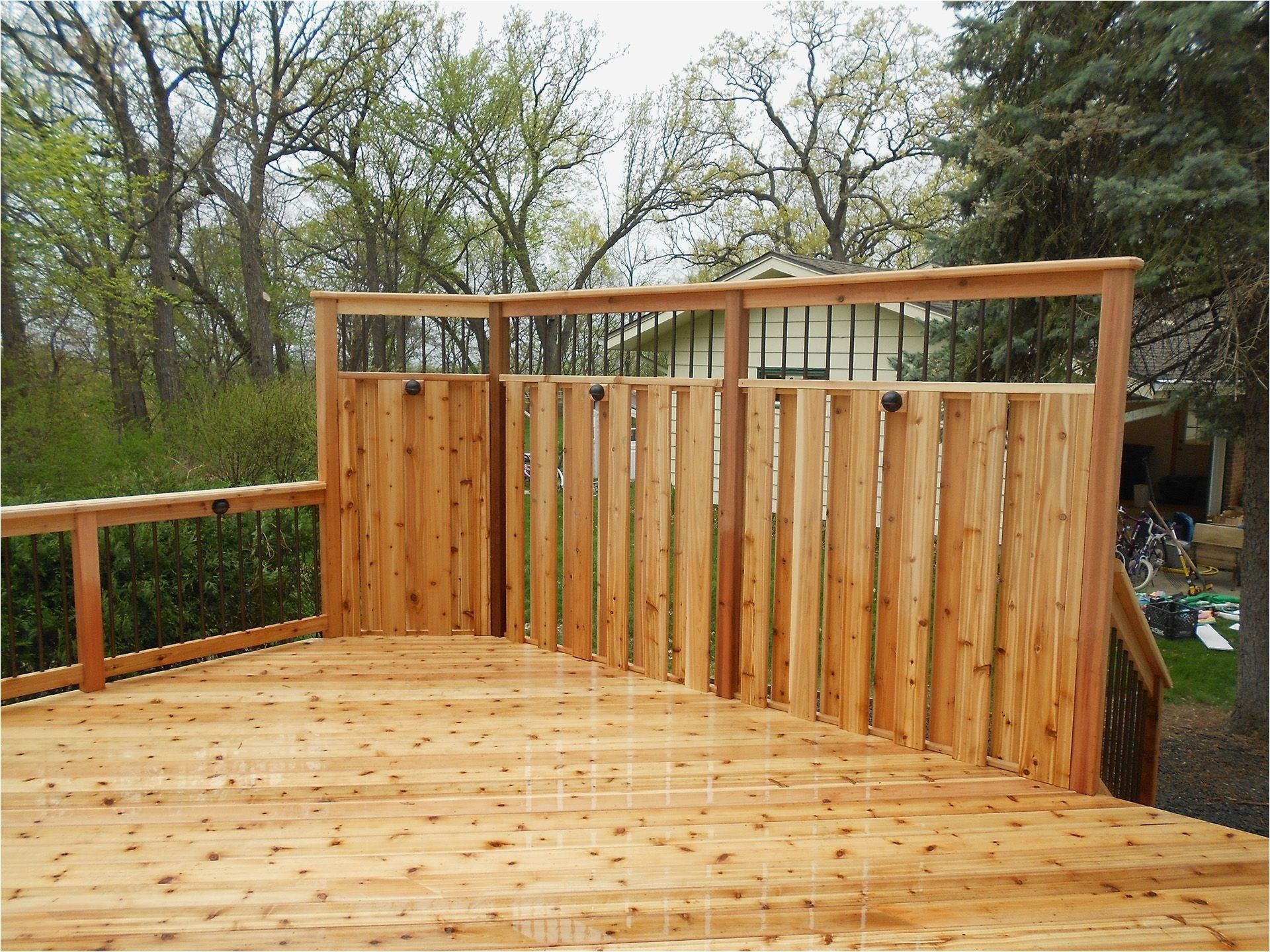 Ideas Concepts Deck And Door Company From Deck Privacy Walls