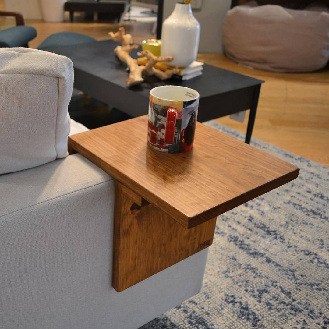 Adjustable Armrest Table Arm Rest Table Stylish Side Table Couch Arm Table