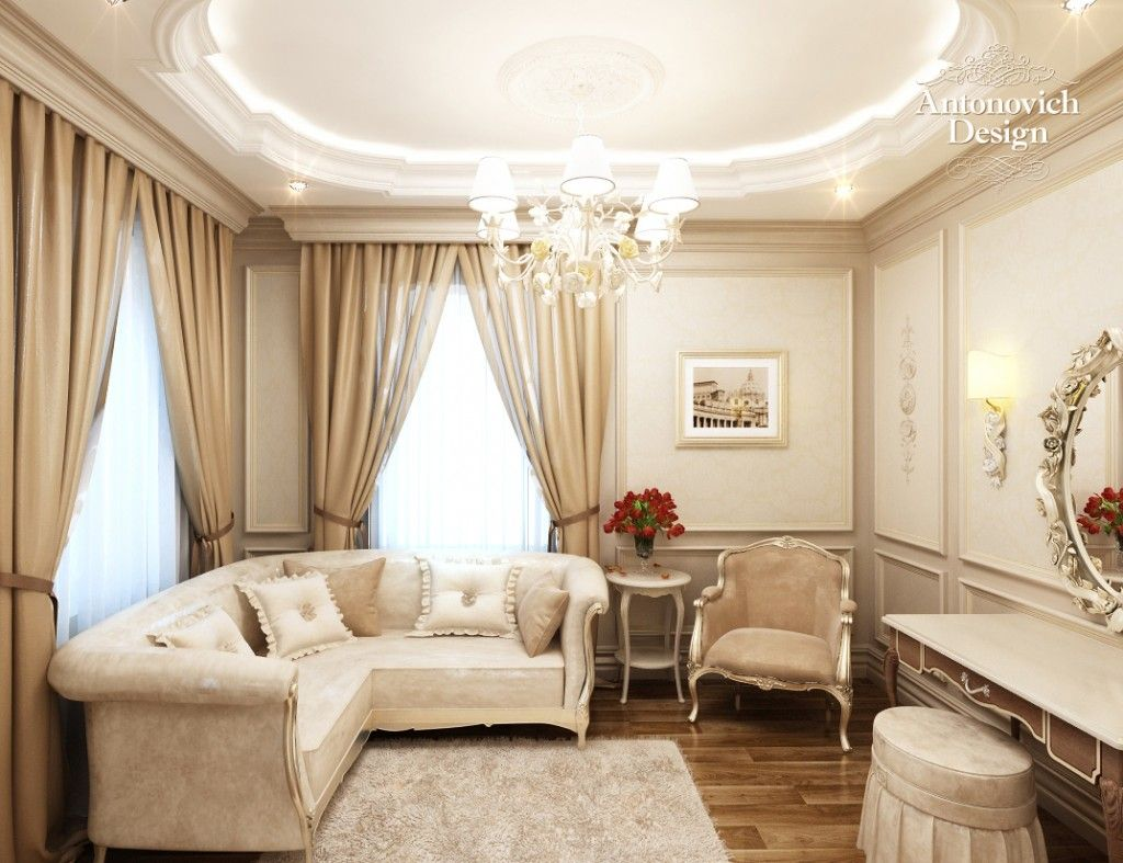 Royal interior design by antonovich design ⋆ antonovich design turkey hall interior apartment interior design