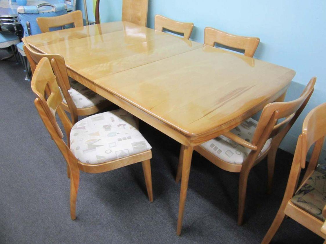 Heywood Wakefield Dining Room Set Value
