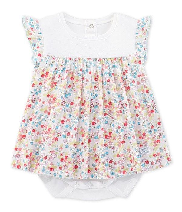 Robe body bébé fille imprimée  fbaea795985