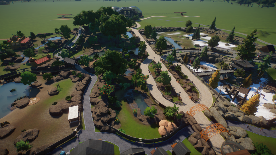 Almost 2 Weeks In Sandbox Love The Game Planetzoo Planet Coaster Zoo Games Animal Habitats