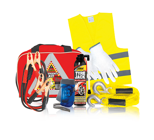 EmergencyKit Includes gloves, torch, tow rope (4m