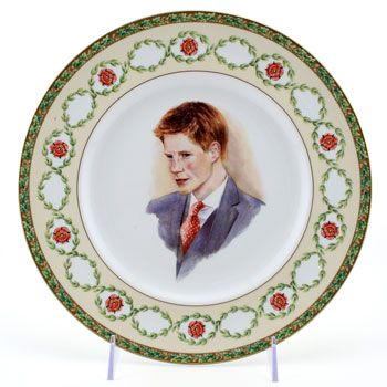 Prince Harry 21st Birthday Commemorative Plate