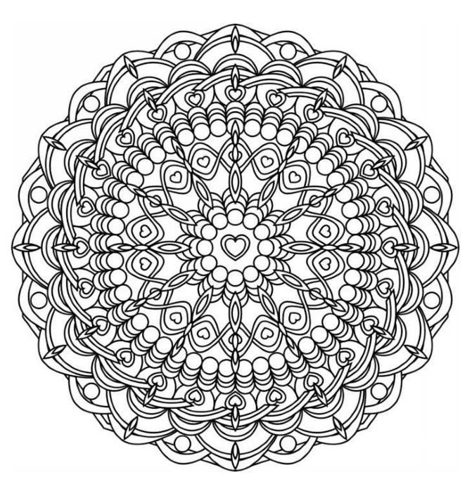 Colouring Mandalas Drawings The One And Only Mandala Book 9781907912801 Books