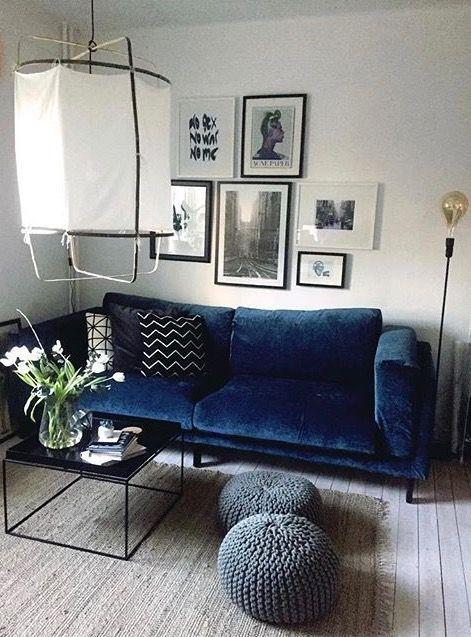 Kleines Wohnzimmer gemütlich einrichten I IKEA Nockeby mit ...