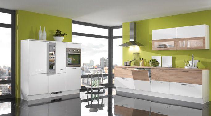 Küche in Schwarz-Weiß #Eckküche wwwdyk360-kuechende Küchen in - vito küchen nobilia