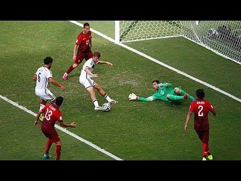 Wm 2014 Vorrunde Deutschland Portugal 4 0 Alle Tore