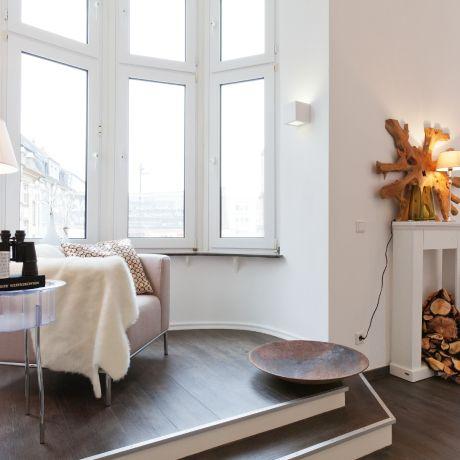 moderne Altbauwohnung von DGHR/HOMEstagingRUHR Home Pinterest - wohnzimmer rosa streichen