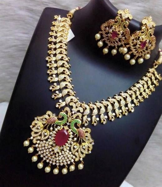 Imitation Bridal Sets With Jhumkas Collection