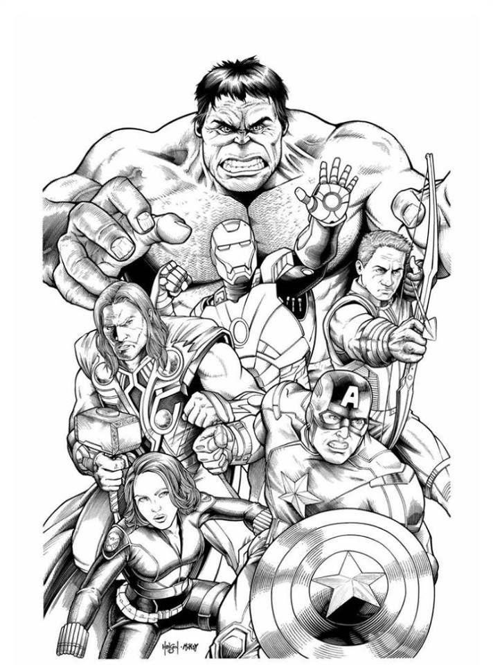 Épinglé par Géorgina Kincaid sur Coloriages Super Heros ...