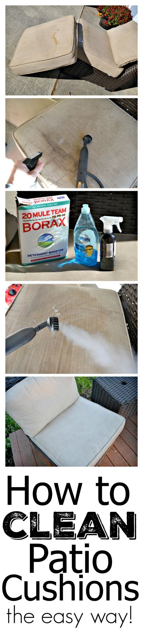 quick tip clean outdoor furniture on the cheap cleaning