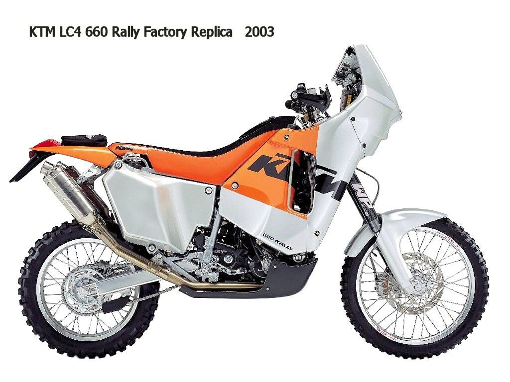 hight resolution of 2003 ktm lc4 660 rally