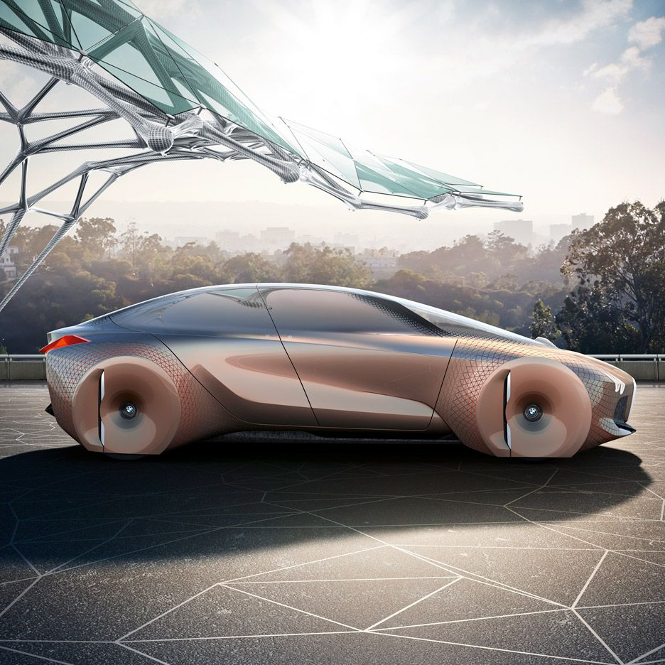 Bmw unveils shape shifting concept car with computers that can predict your every move