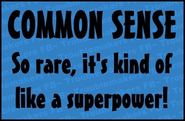 Common Sense Funny Quotes Jokes Lol Common Sense Humor Uote Common Sense Humor Jokes Quotes Funny Quotes