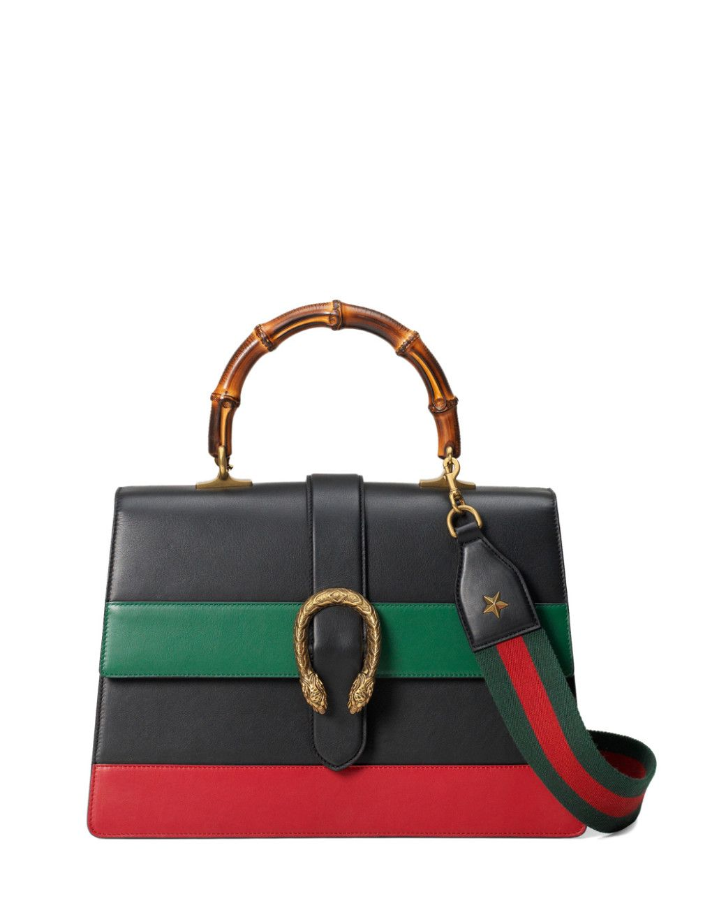 789ec37c6 Gucci | Black Dionysus Stripe Bag | Lyst | Bags: The Edit | Gucci ...