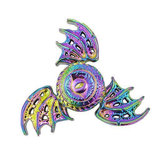 Zinc Alloy High Speed Focus Toys Gift Multi Styles Finger Spinner Fidget Spinner