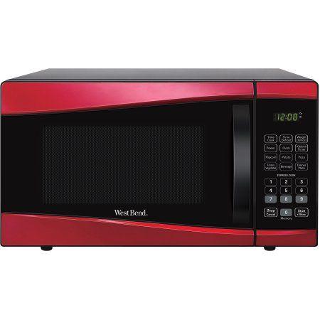 West Bend 0.9-cu. ft. 900-Watt Microwave, Black