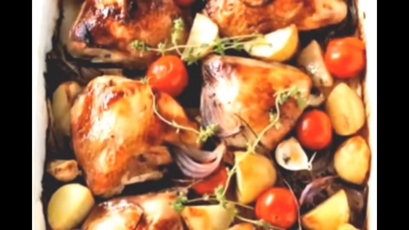 Authentic How To Make Spanish Baked Chicken Recipes Dominican