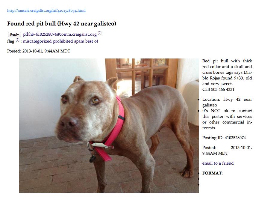 Santa Fe Craigslist Pets
