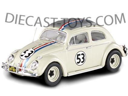 Herbie The Love Bug 1962 Vw Beetle 53 1 43