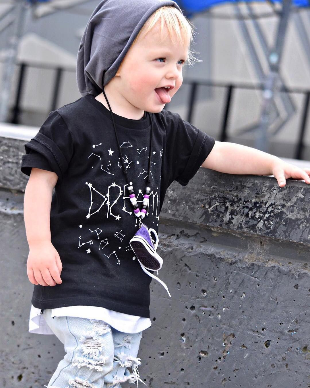 48e116f3 It's time for Dreams lovely Kiara @ki.ki_baby_fashion wears out  Constellations Dream tee very few stock of this tee available in store now  tap link in bio ...