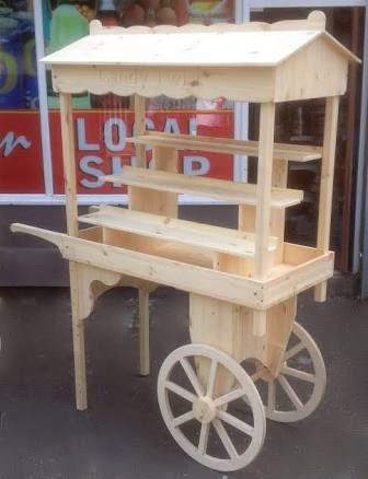 Resultado De Imagen How To Make A Collapsible Candy Cart