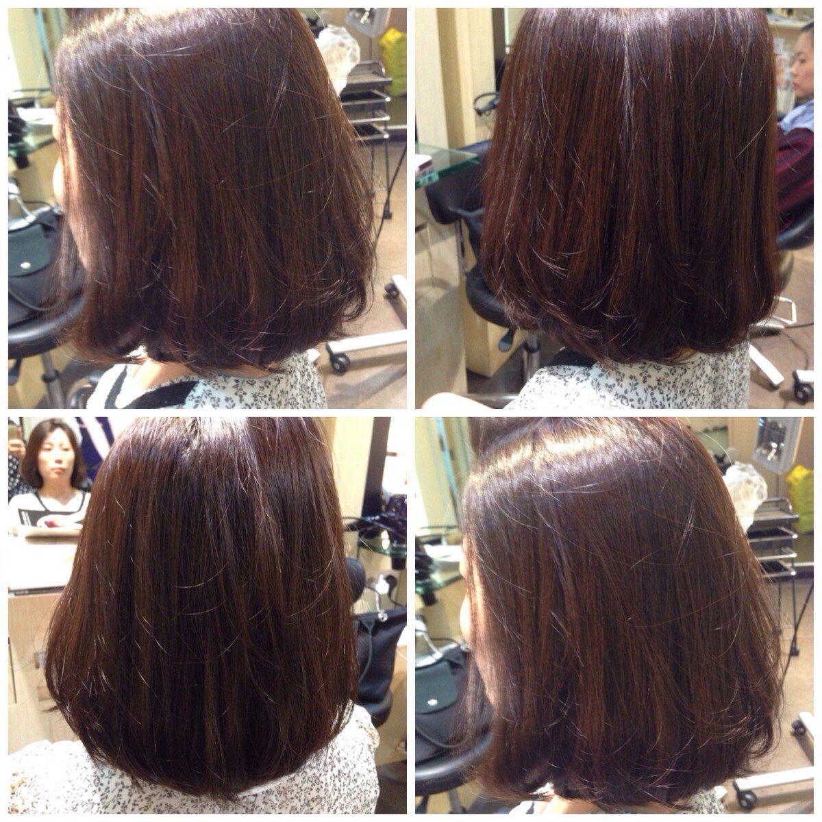 smooth volume rebonding hair   volume rebonding   long hair